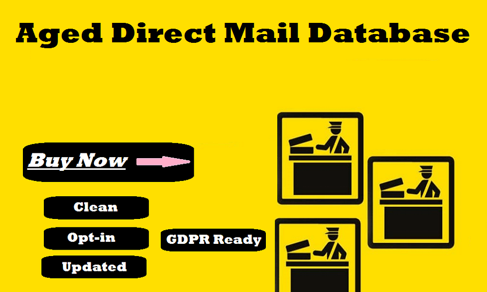 Aged Direct Mail Database