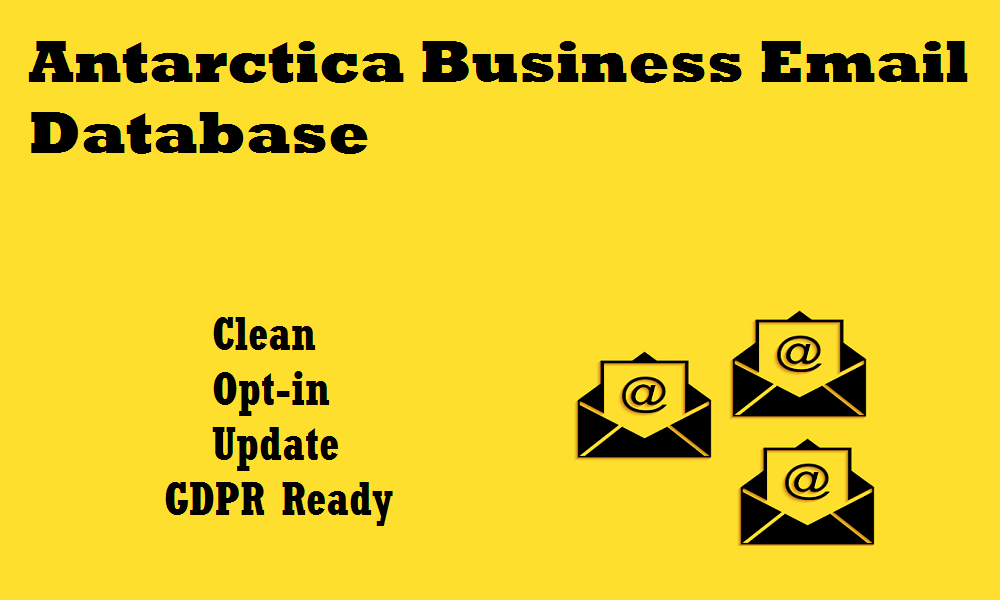 Antarctica Business Email Database