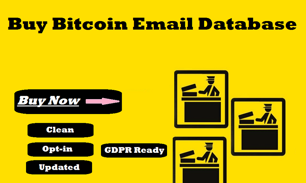 Buy Bitcoin Email Database
