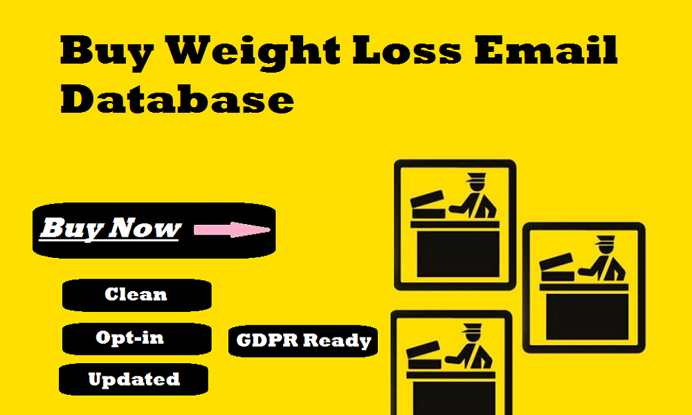 Buy Weight Loss Email Database