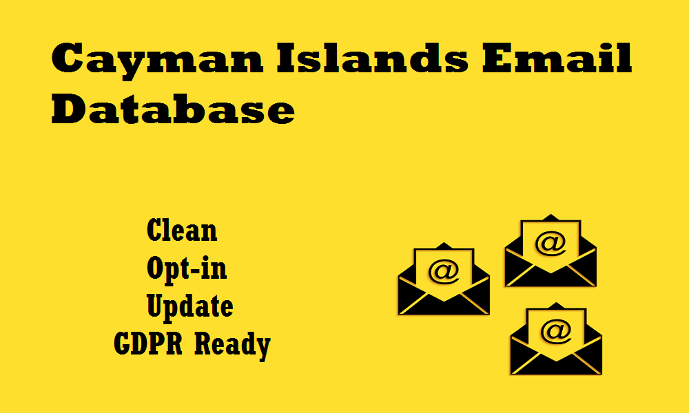Cayman Islands Email Database