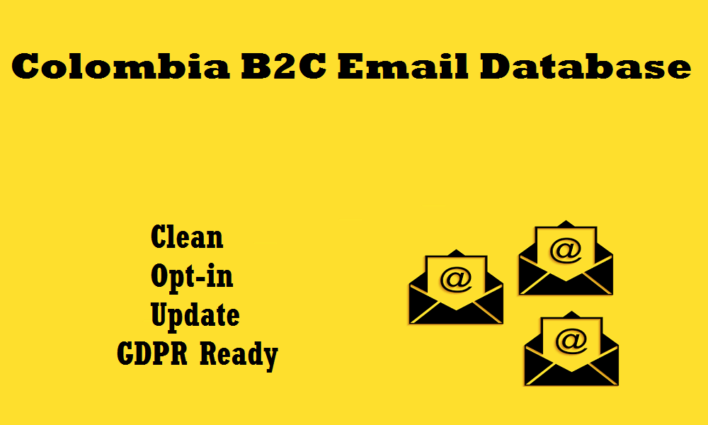 Colombia B2C Email Database