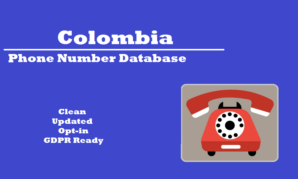Colombia Phone Number Database