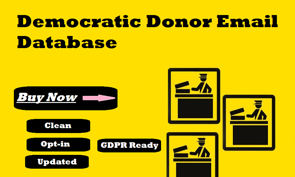 Democratic Donor Email Database