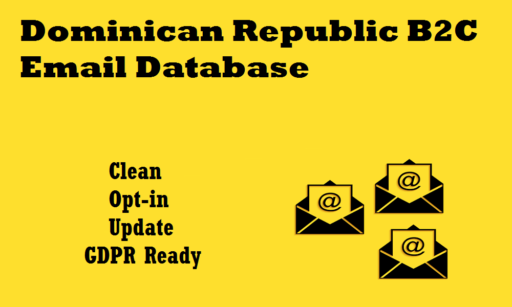 Dominican Republic B2C Email Database