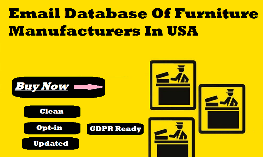 Email Database Of Furniture Manufacturers In USA