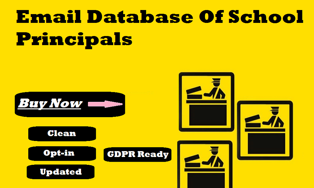 Email Database Of School Principals