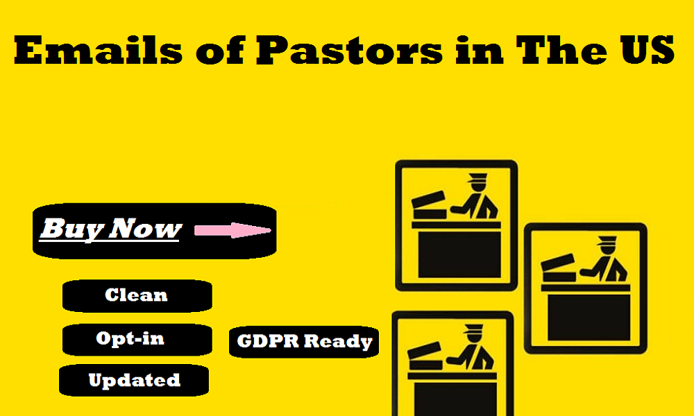 Emails of Pastors in The US