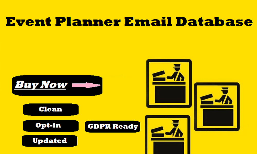 Event Planner Email Database
