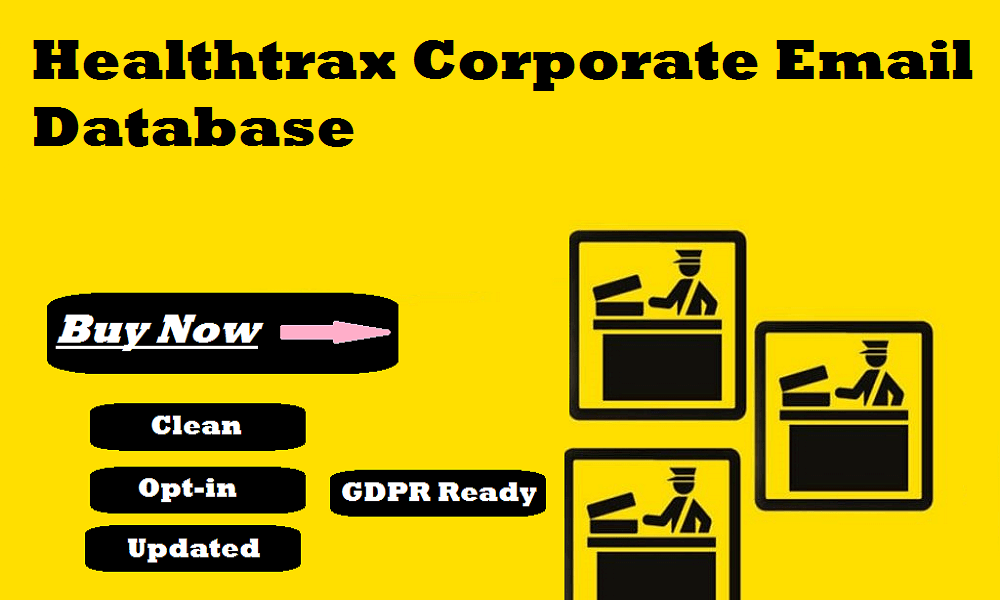 Healthtrax Corporate Email Database
