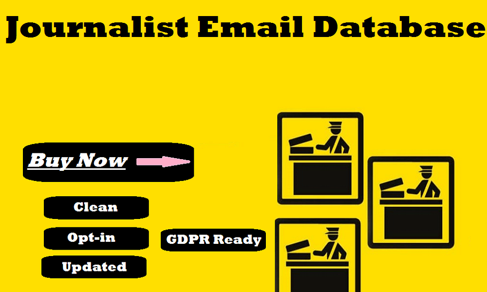 Journalist Email Database