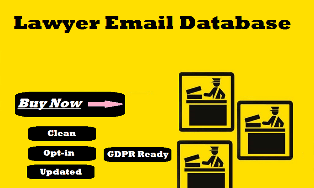 Lawyer Email Database